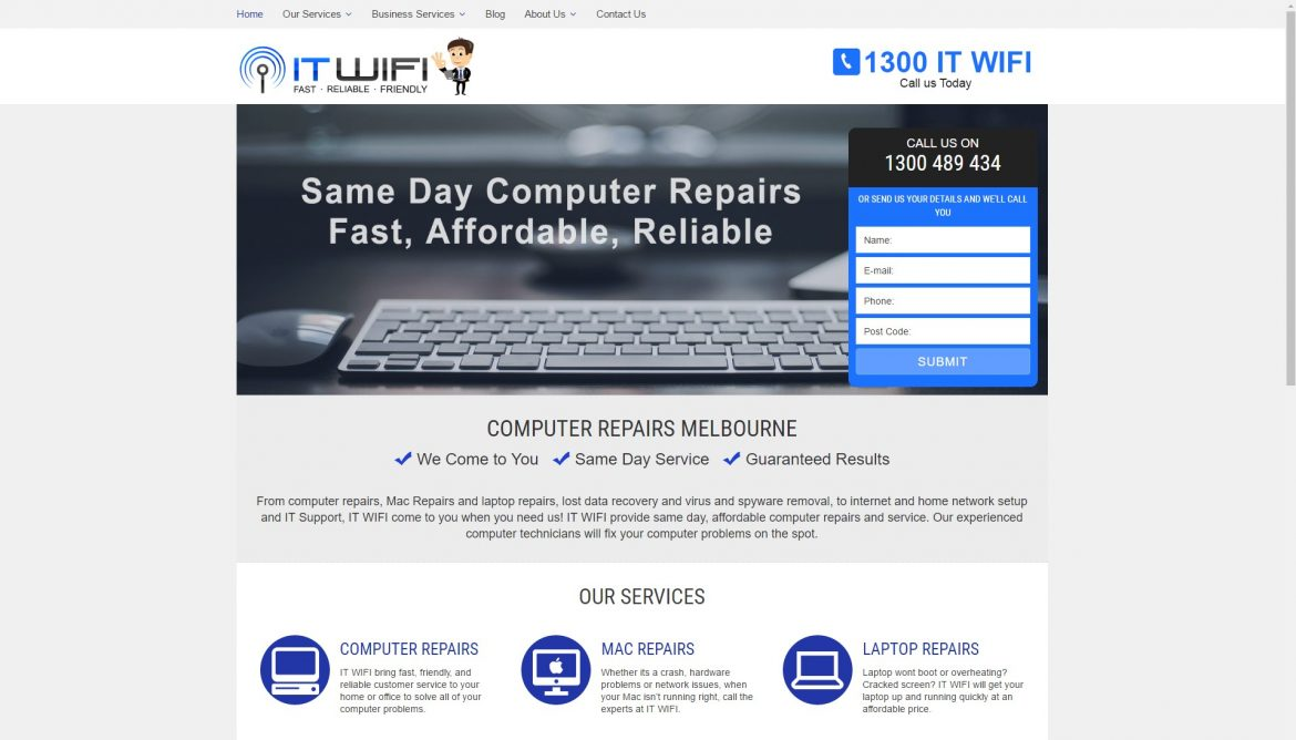 itwifi Website design