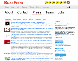 what is Buzzfeed